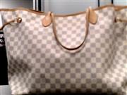 LOUIS VUITTON Handbag DAMIER AZUR NEVERFULL GM